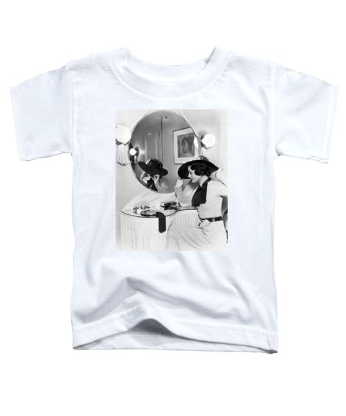 Model In Front Of A Mirror Toddler T-Shirt