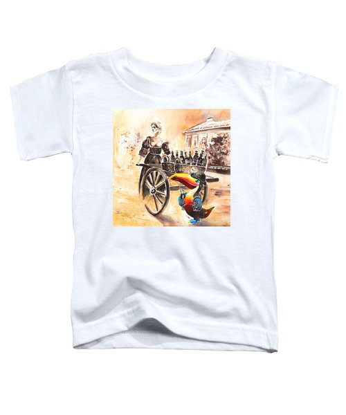 Molly Malone Toddler T-Shirt by Miki De Goodaboom