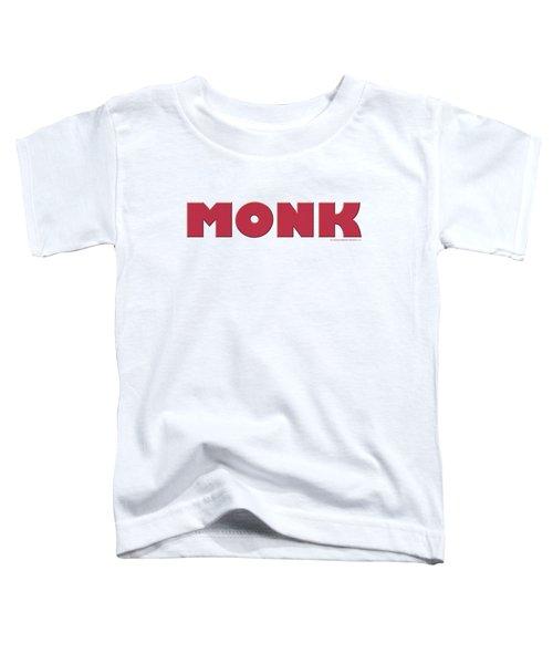 Monk - Logo Toddler T-Shirt