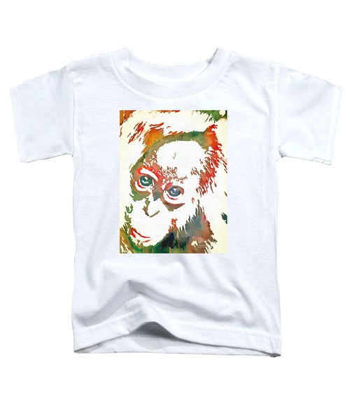 Monkey Pop Art Toddler T-Shirt