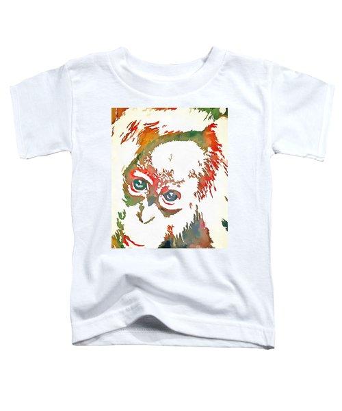 Monkey Pop Art Toddler T-Shirt