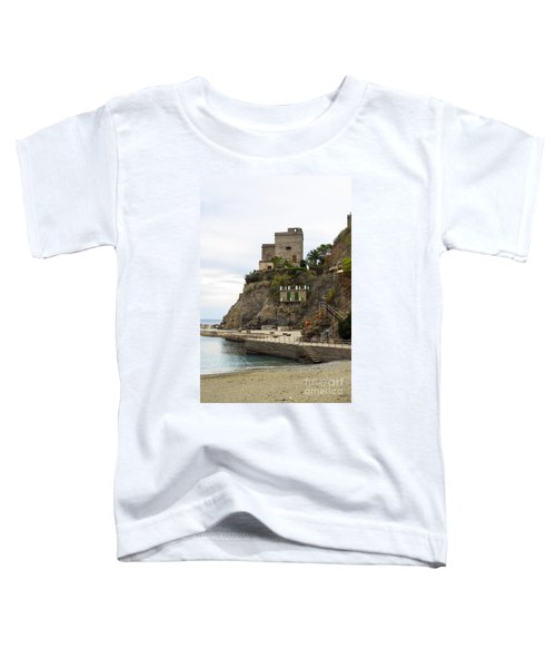 Monterosso Harbor Pier Toddler T-Shirt