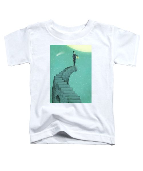 Moon Steps Toddler T-Shirt