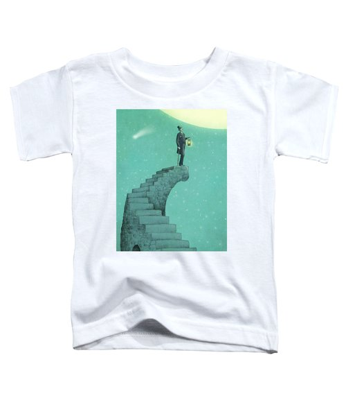 Moon Steps Toddler T-Shirt