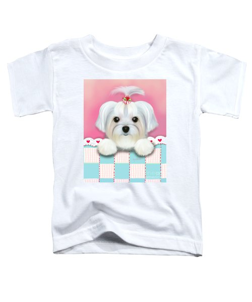 Morkie Shelly Toddler T-Shirt
