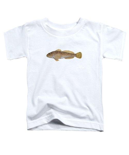 Mottled Sculpin Toddler T-Shirt