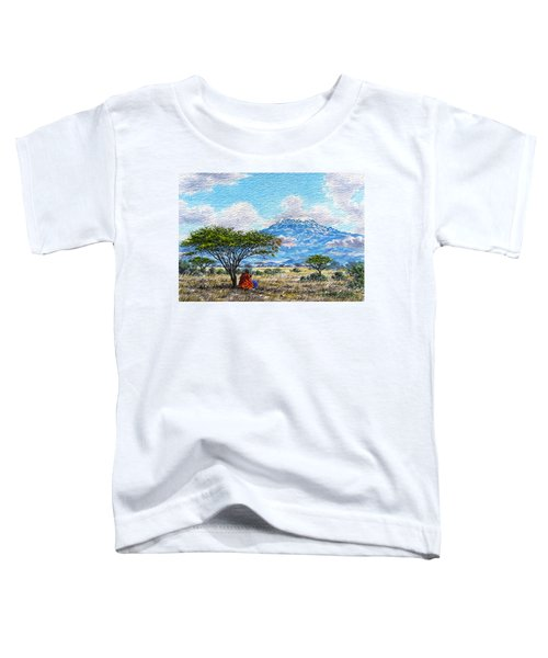 Mount Kilimanjaro Toddler T-Shirt