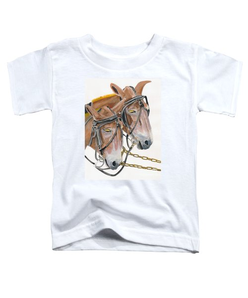 Mules - Two - Beast Of Burden Toddler T-Shirt