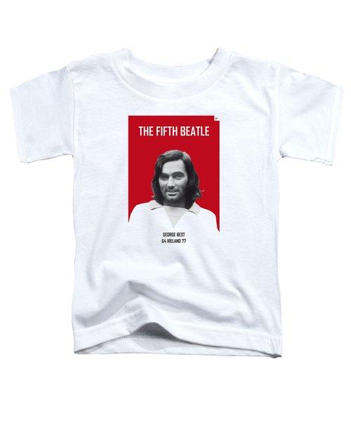My Best Soccer Legend Poster Toddler T-Shirt by Chungkong Art