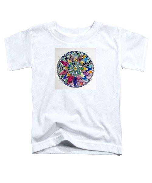 Spring Mandala Toddler T-Shirt