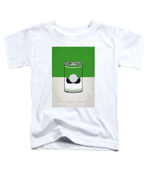 My Mario Warhols Minimal Can Poster-luigi Toddler T-Shirt