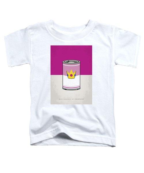 My Mario Warhols Minimal Can Poster-peach Toddler T-Shirt