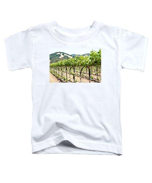 Napa Vineyard Grapes Toddler T-Shirt