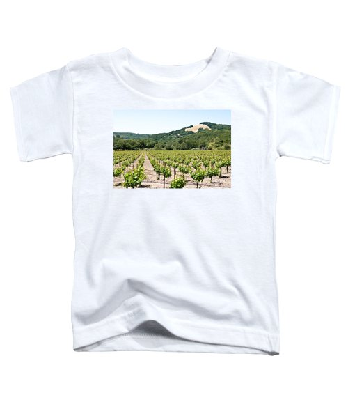 Napa Vineyard With Hills Toddler T-Shirt