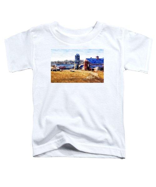 New England Farm 2 Toddler T-Shirt