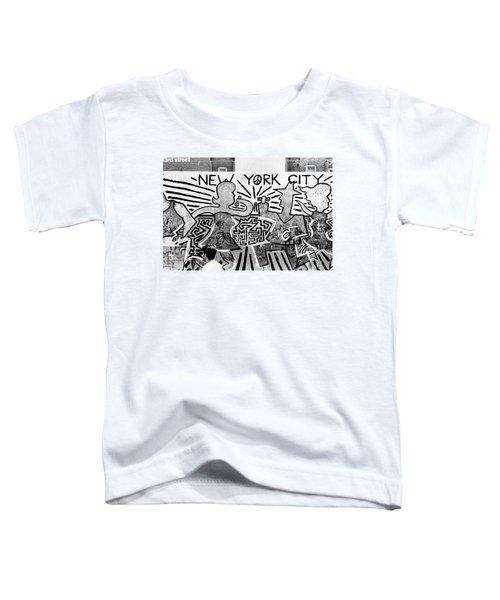 New York City Graffiti Toddler T-Shirt