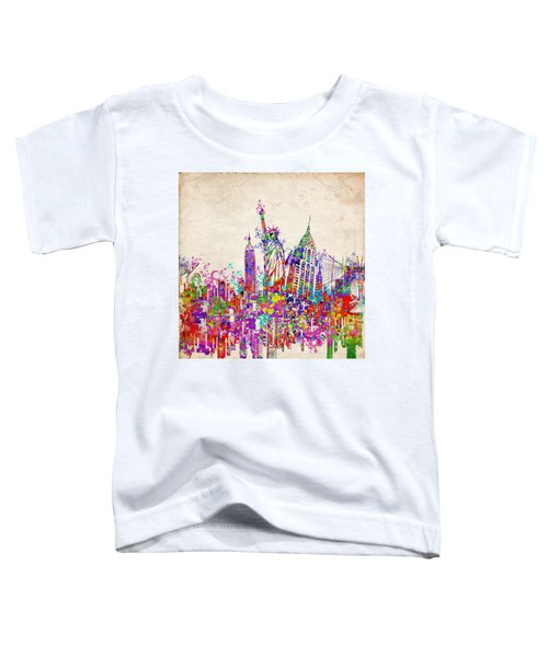 New York City Tribute 2 Toddler T-Shirt