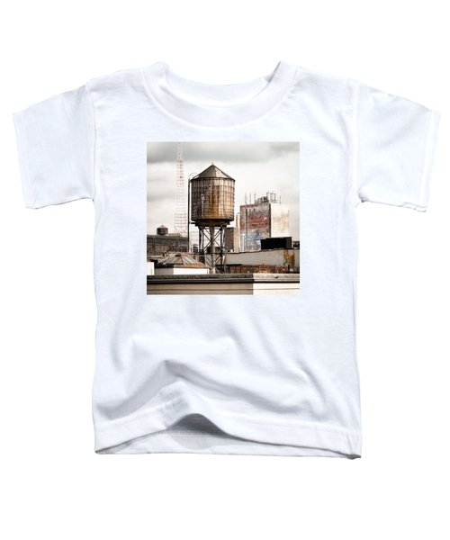 New York Water Tower 16 Toddler T-Shirt