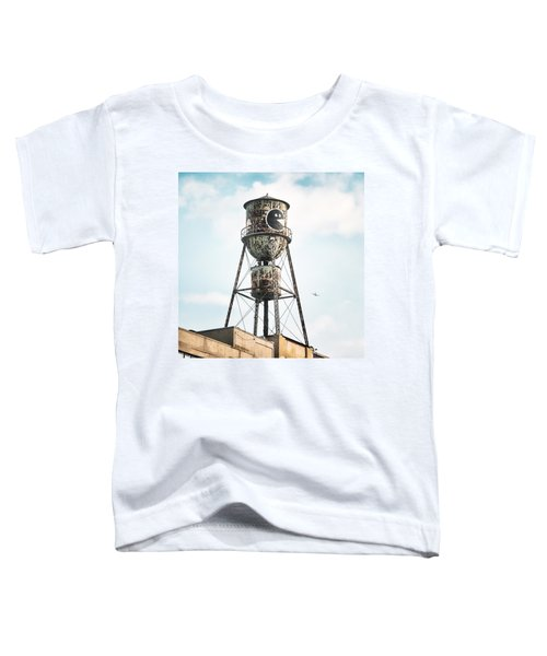 New York Water Towers 9 - Bed Stuy Brooklyn Toddler T-Shirt