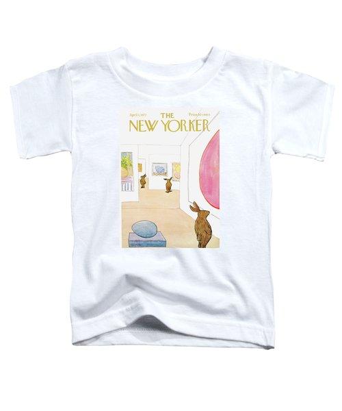 New Yorker April 1st, 1972 Toddler T-Shirt