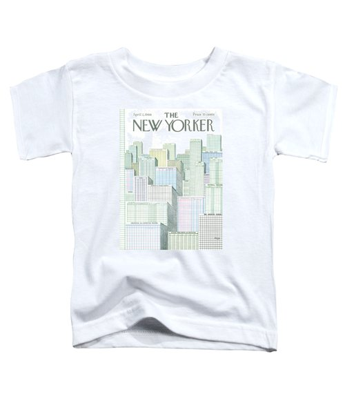 New Yorker April 2nd, 1966 Toddler T-Shirt