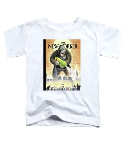 New Yorker August 1st, 2005 Toddler T-Shirt