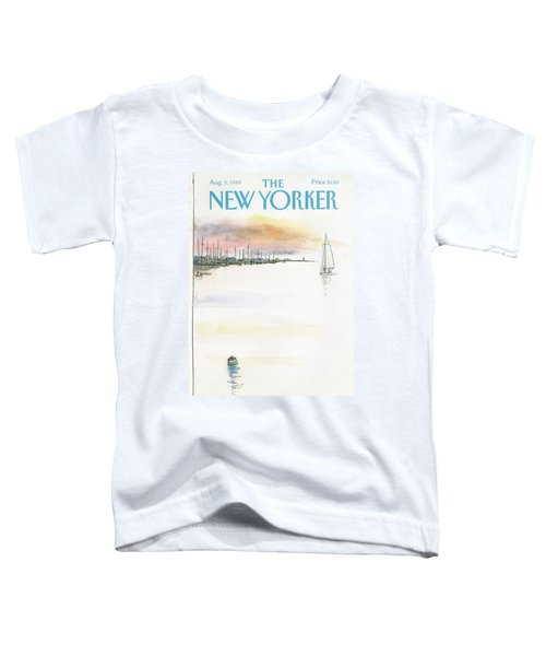 New Yorker August 5th, 1985 Toddler T-Shirt