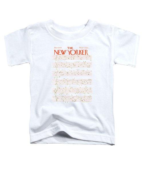 New Yorker December 15th, 1975 Toddler T-Shirt