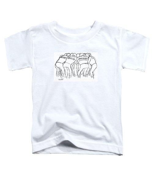 New Yorker December 16th, 1972 Toddler T-Shirt