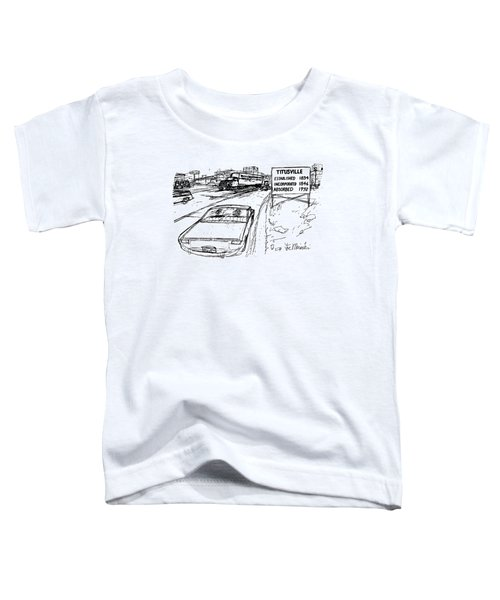 New Yorker December 31st, 1979 Toddler T-Shirt