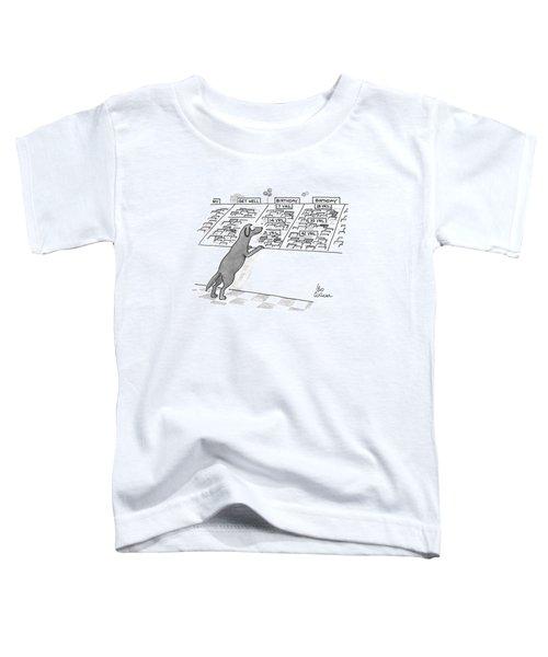 New Yorker December 7th, 1992 Toddler T-Shirt