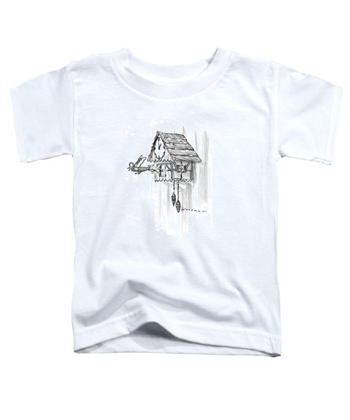 New Yorker February 10th, 1997 Toddler T-Shirt by Bill Woodman