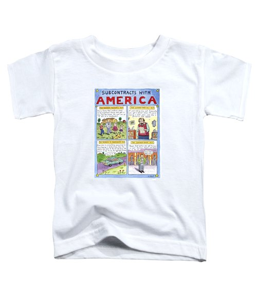 New Yorker January 16th, 1995 Toddler T-Shirt by Roz Chast