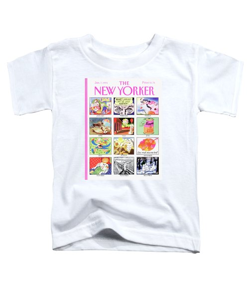 New Yorker January 7th, 1991 Toddler T-Shirt