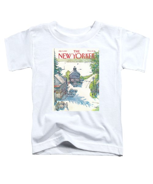 New Yorker July 4th, 1983 Toddler T-Shirt