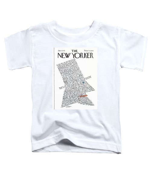 New Yorker July 5th, 1976 Toddler T-Shirt