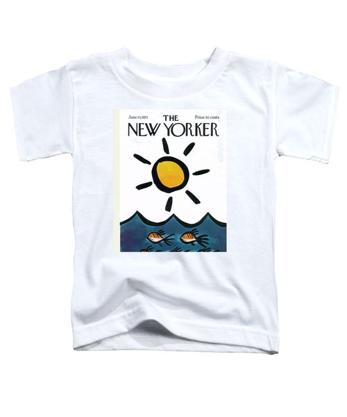 New Yorker June 10th, 1972 Toddler T-Shirt