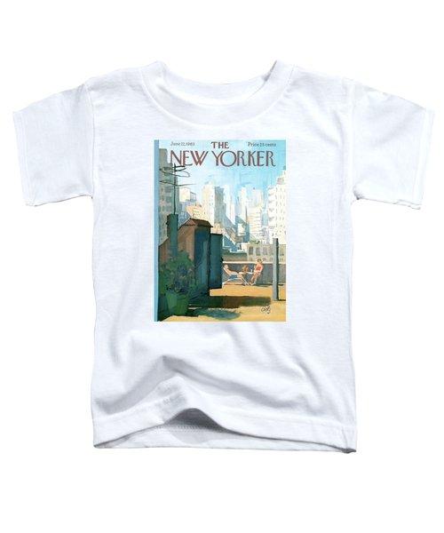 New Yorker June 22nd, 1963 Toddler T-Shirt