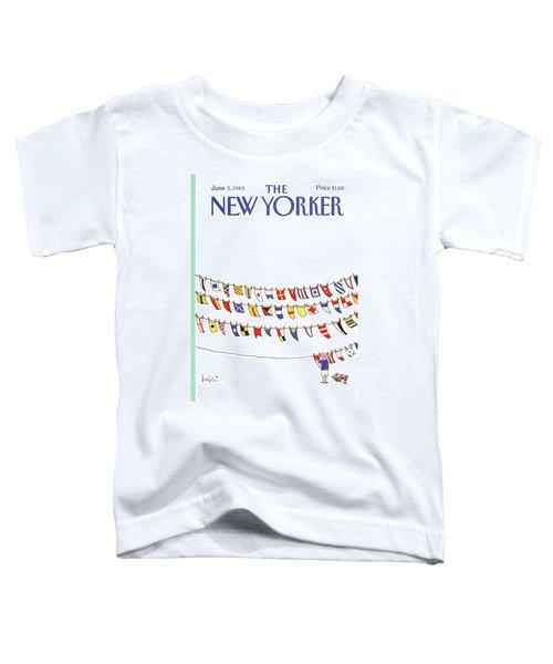 New Yorker June 3rd, 1985 Toddler T-Shirt