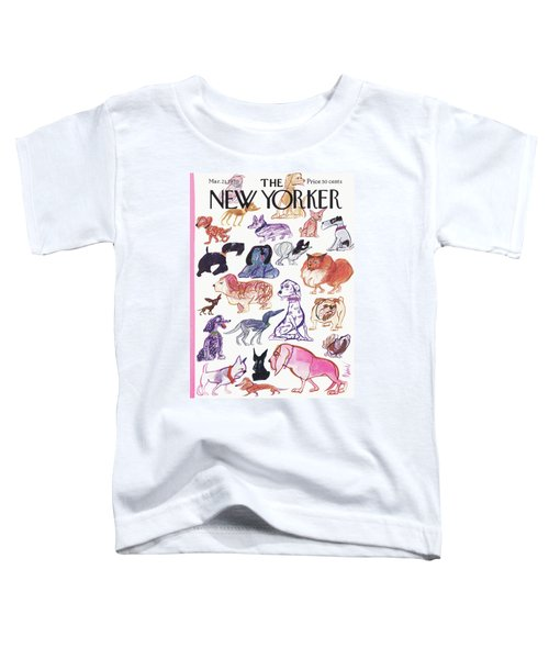 New Yorker March 21st, 1970 Toddler T-Shirt