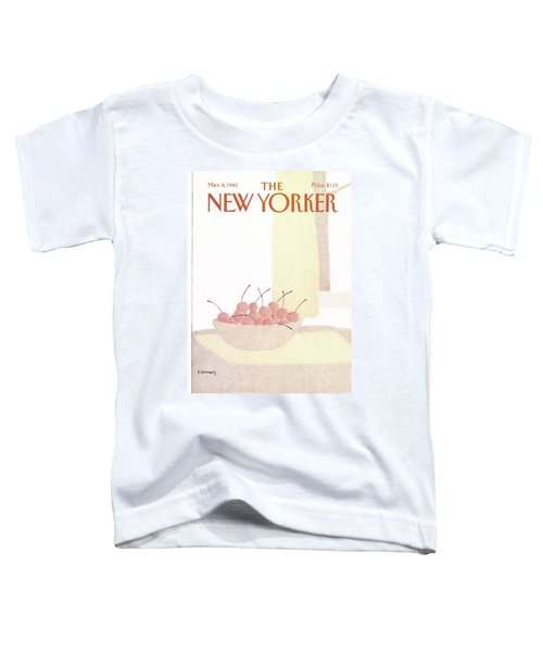 New Yorker March 8th, 1982 Toddler T-Shirt