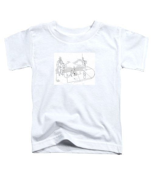 New Yorker May 22nd, 1943 Toddler T-Shirt by George Price