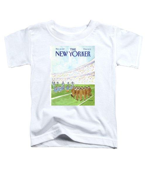 New Yorker November 16th, 1987 Toddler T-Shirt