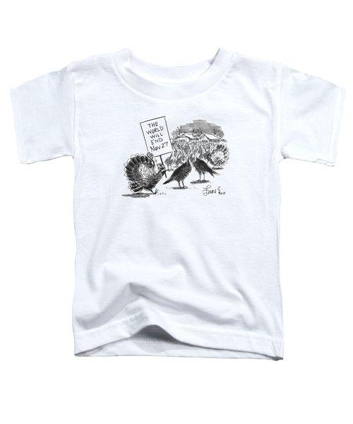 New Yorker November 24th, 1997 Toddler T-Shirt