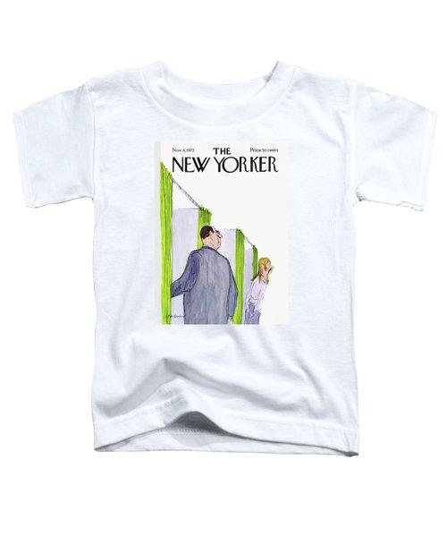 New Yorker November 4th, 1972 Toddler T-Shirt