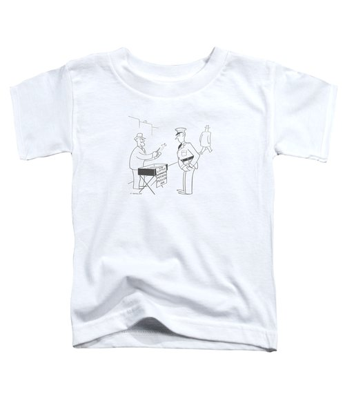 New Yorker November 9th, 1940 Toddler T-Shirt by Otto Soglow