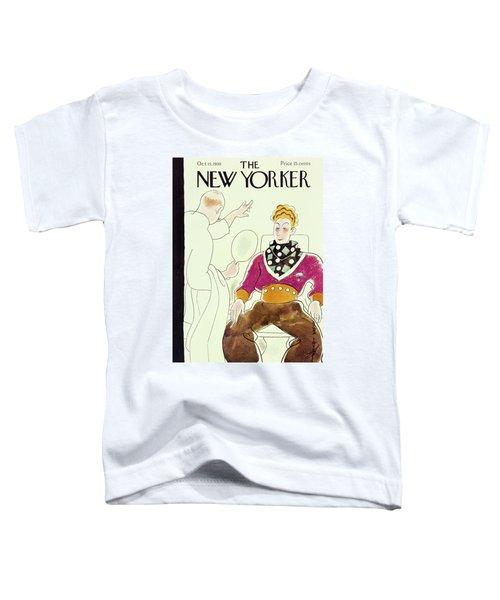 New Yorker October 15 1938 Toddler T-Shirt