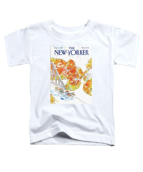 New Yorker October 17th, 1983 Toddler T-Shirt