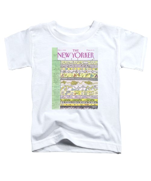 New Yorker October 1st, 1990 Toddler T-Shirt