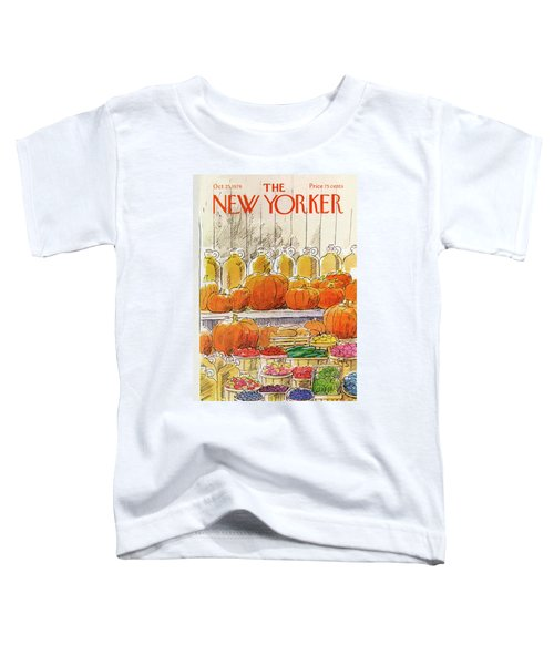 New Yorker October 25th, 1976 Toddler T-Shirt